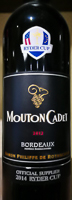 Der offizielle Ryder Cup Wein 2014